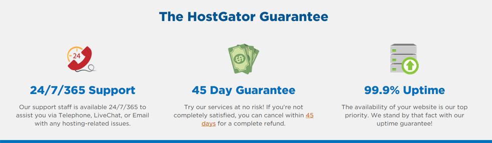 host gator guarantee