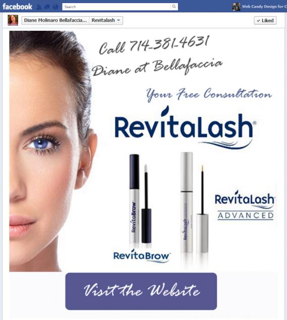 Revitalash Tab Facebook