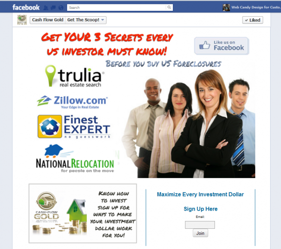 Cash flow Gold Facebook Page