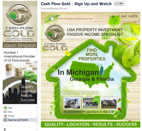 Facebook Cash Flow Gold