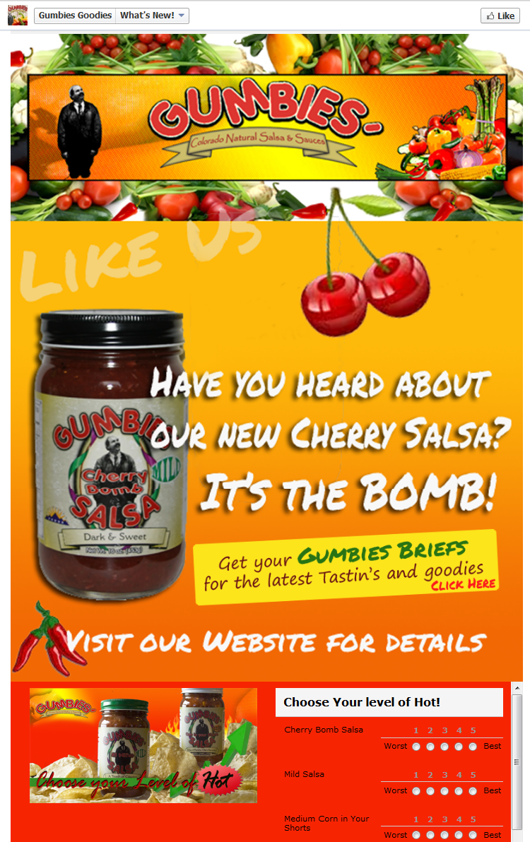 Facebook Page Gumbies Goodies What's Hot