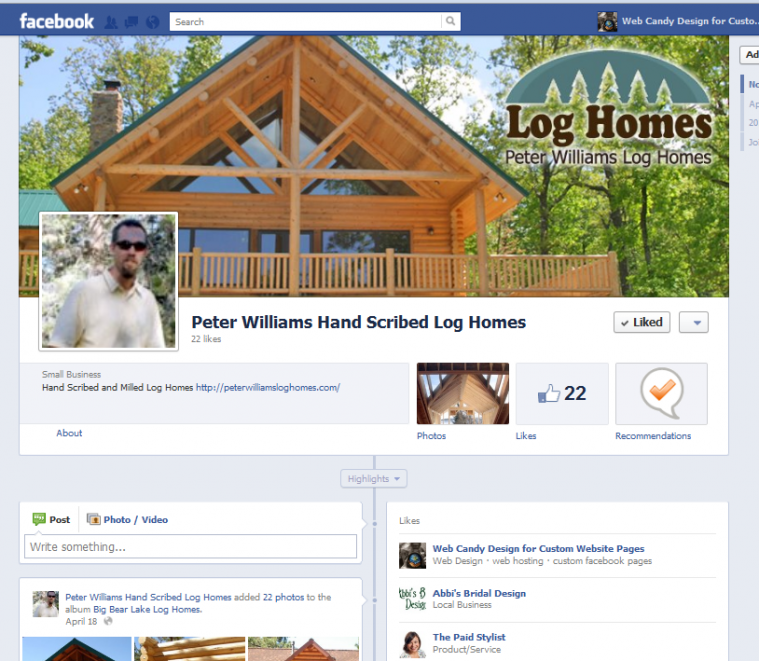 Peter Williams facebook Page