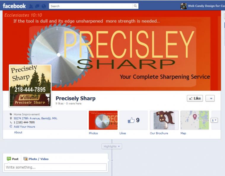 Precisely Sharp Facebook