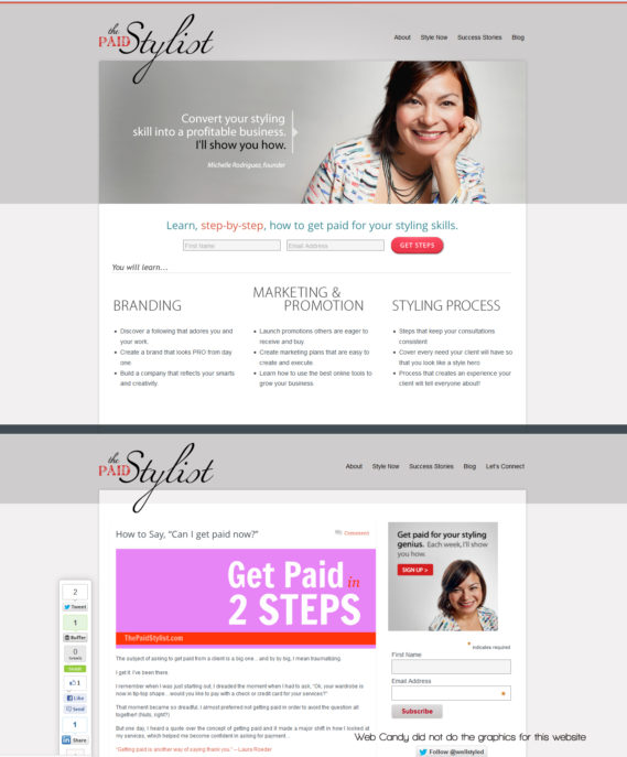 The Paid Stylist - Get paid for Styling Success
