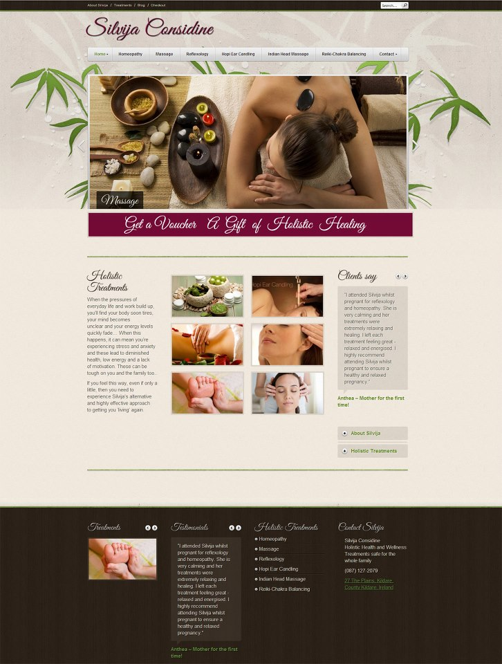 Silvija Considine Holistic treatments and wellness