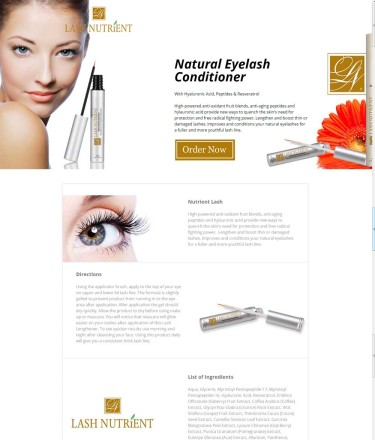 Nutrient Eyelash