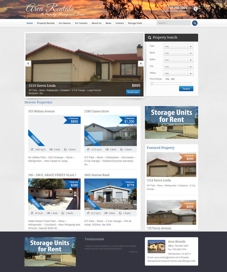 Rental Websites Real Estate Customized to Fit your Business