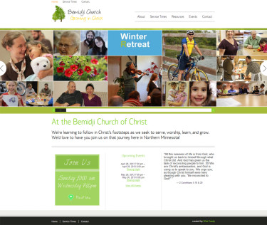 Bemidji Church of Christ Custom Church websites