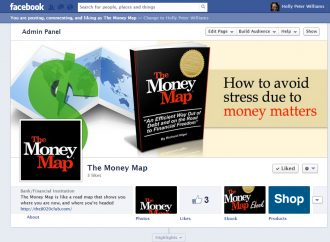 The Money Map investing and paying off your debt Custom Facebook banners