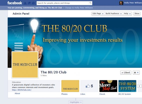 the 80/20 Club invest in your future and save money