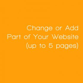 Change or Add by Section by Web Candy Websites