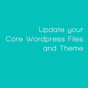 Update Wordpress Core Files and Theme with Plugins by Web Candy Websites