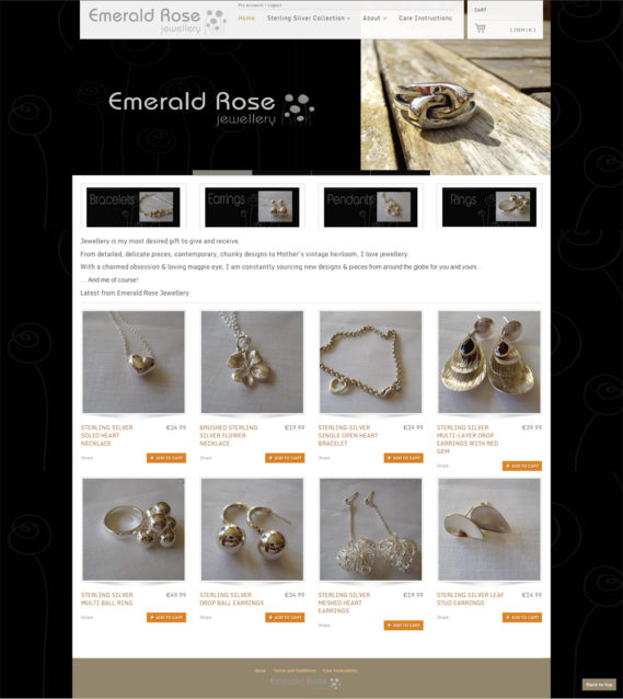 Emerald Rose Jewelry