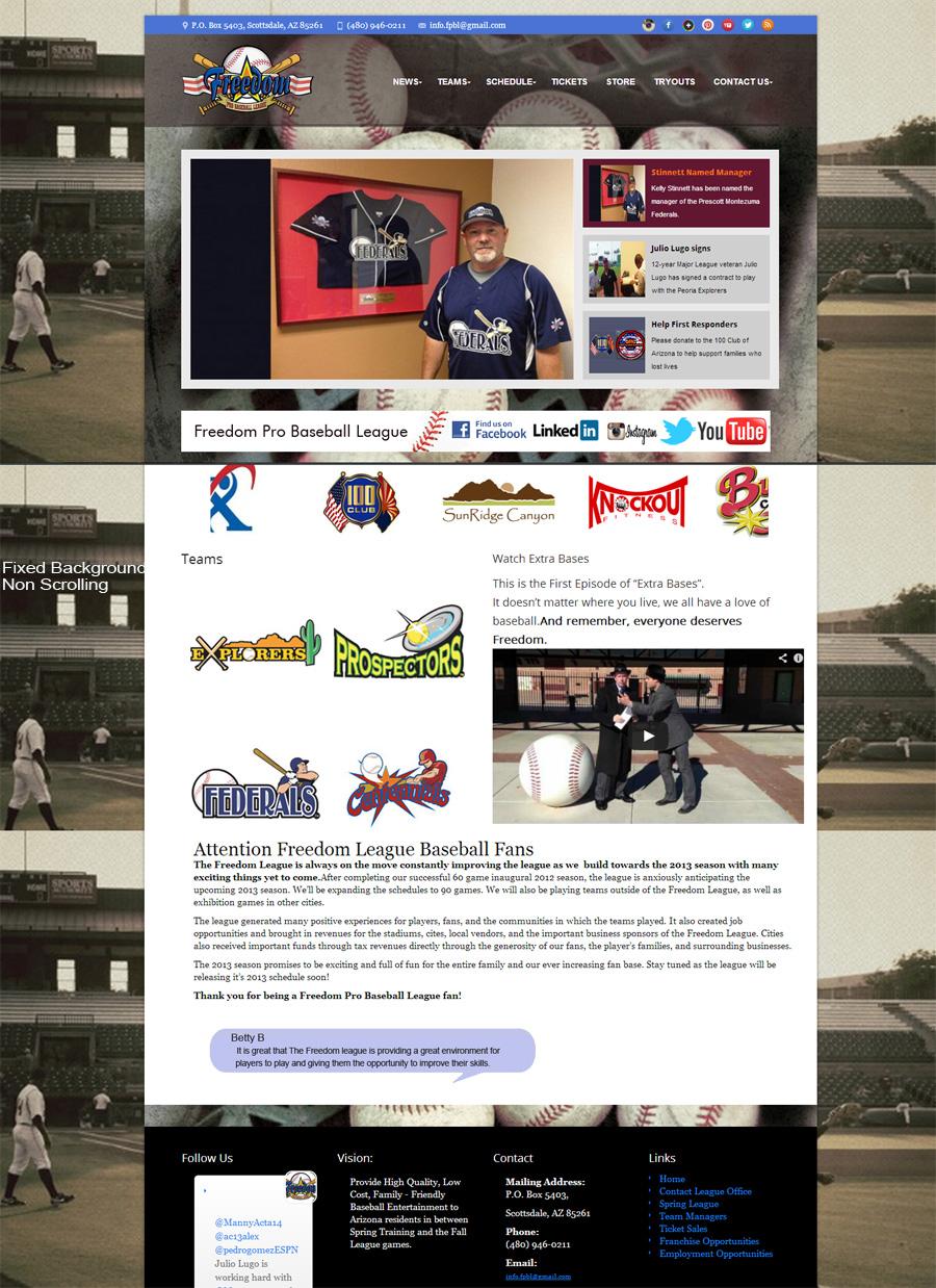 Freedom Pro Baseball