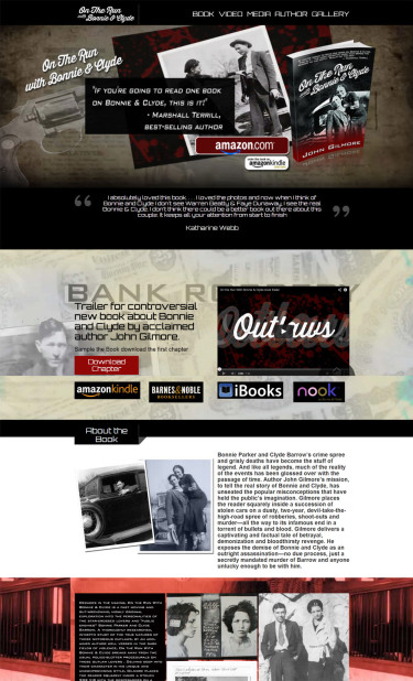 Bonnie and Clyde Website