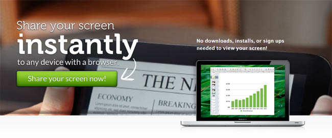 Screen Leap Screen Sharing Program FREE