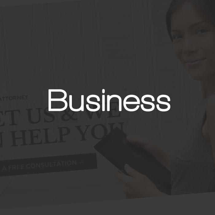 Business Wordpress Themes Test Drive