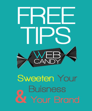 Free Business Tips with Web Candy Websites